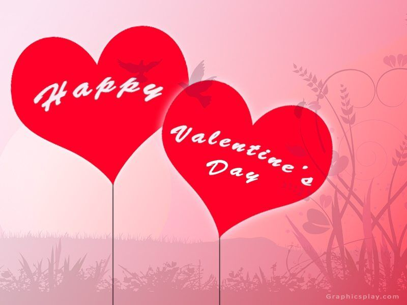 Happy Valentines Day Greeting With Love 1