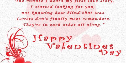 Happy valentine's Day With Quotes 3