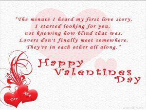 Happy valentine's Day With Quotes 5