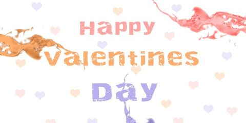 Happy Valentines Day With Love Greeting 3