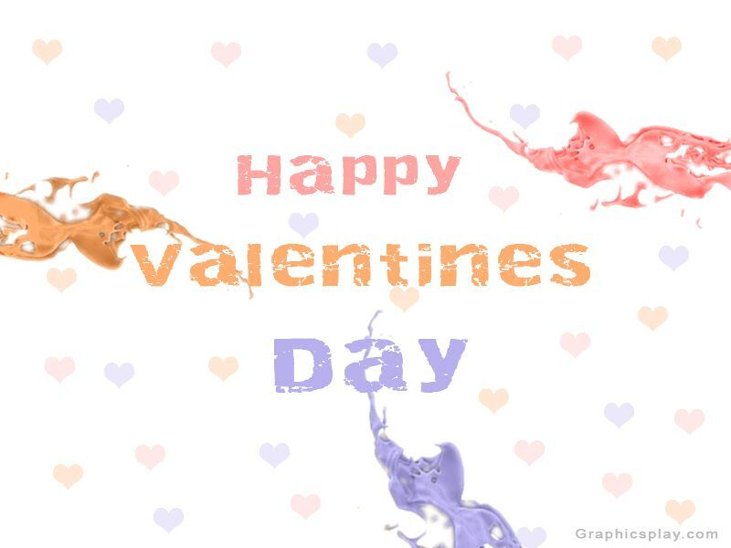 Happy Valentines Day With Love Greeting 1