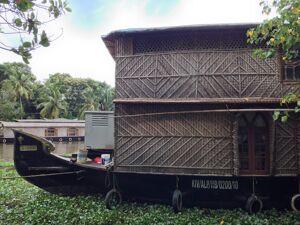 Nice Looking Houseboat Free Photo 1