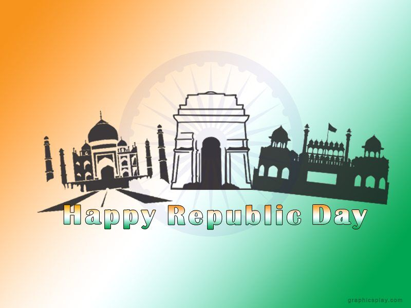 Happy Republic Day Indian Greeting 1