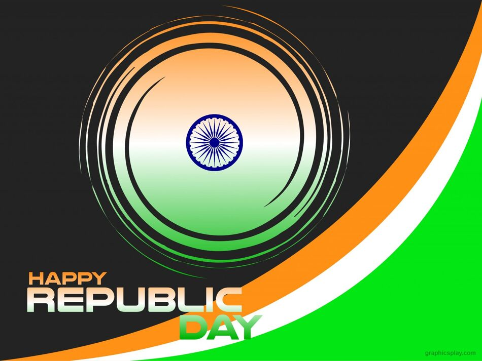 Nice Happy Republic Day Indian Greeting 1