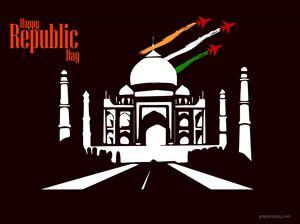 Beautiful Happy Republic Day Indian Greeting 8