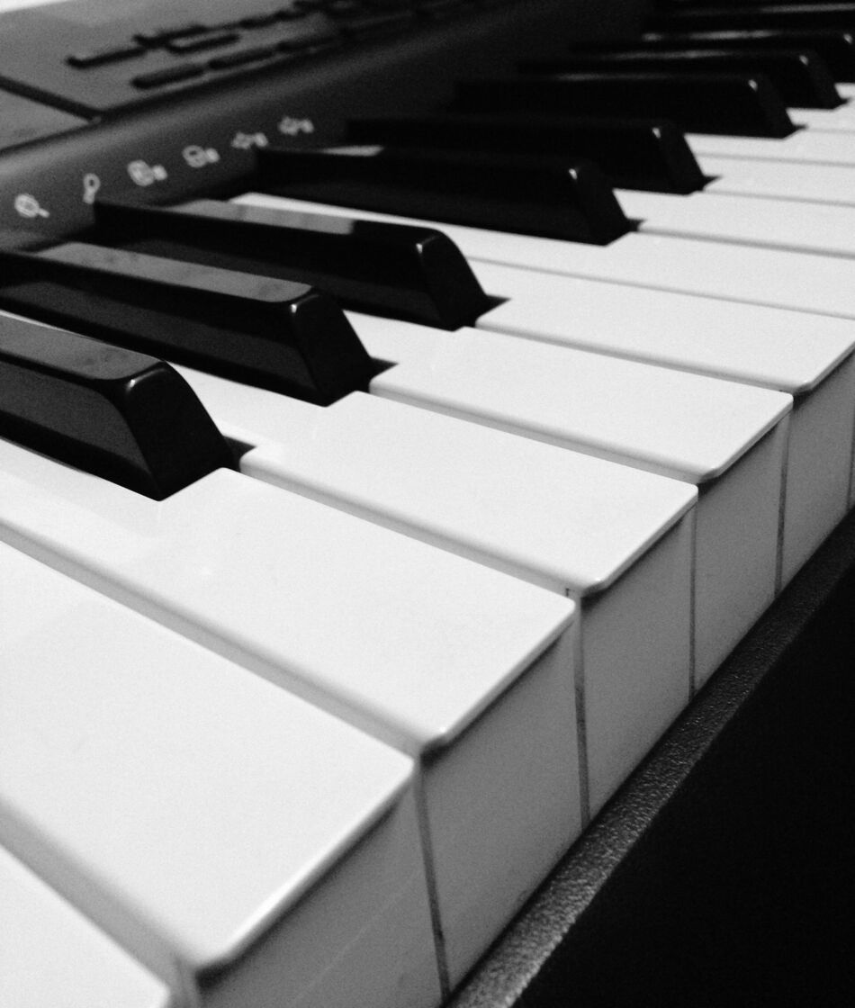Beautiful Piano Keys Free Photo 1