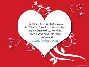 Happy Valentine's Day Greeting -2169 8