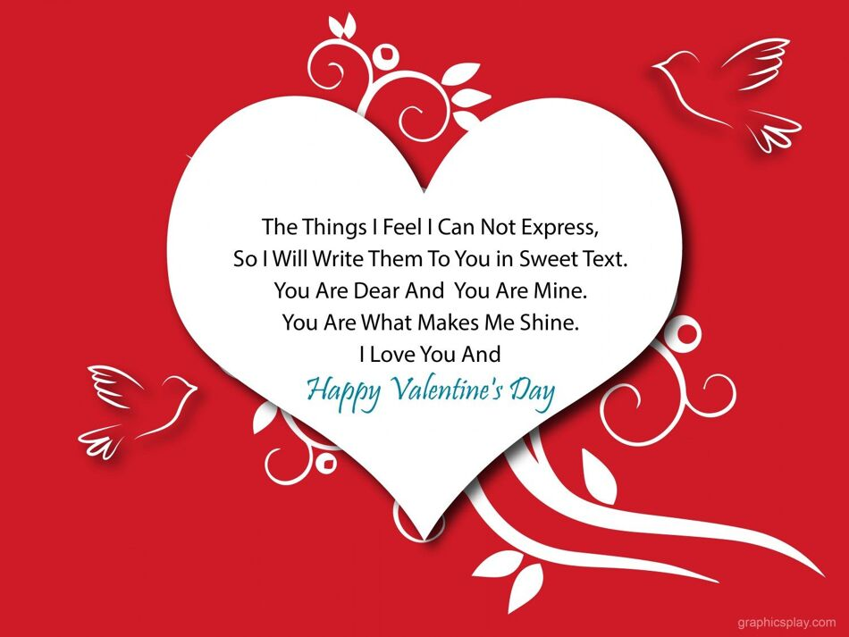 Happy Valentine's Day Greeting -2169 1
