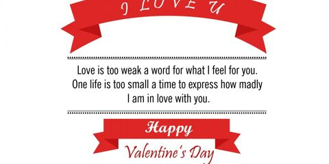 Happy Valentine's Day Greeting -2211 5