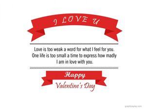 Happy Valentine's Day Greeting -2211 6