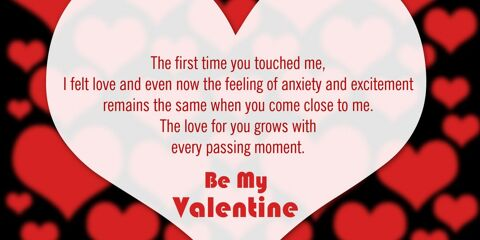 Happy Valentine's Day Greeting -2209 30