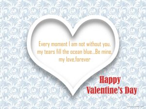 Happy Valentine's Day Greeting -2210 3
