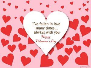 Happy Valentine's Day Greeting -2168 2