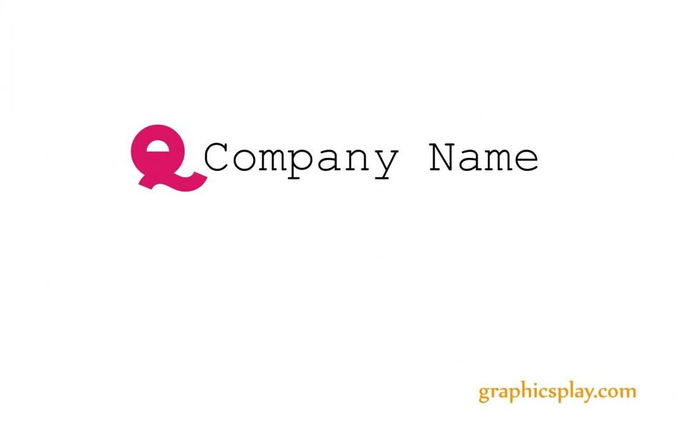 Logo Vector Template ID - 2468 1
