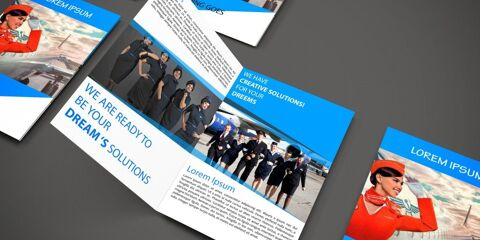 Brochure Design Template ID - 3534 5