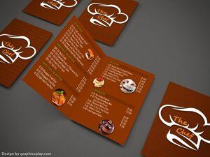 Brochure Design Template ID - 3501 3