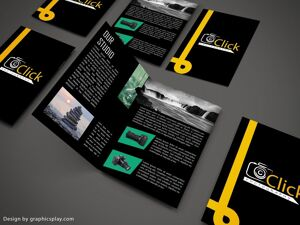 Brochure Design Template ID - 3474 5