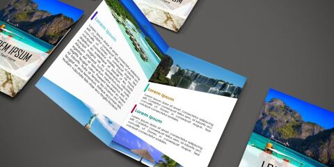 Brochure Design Template ID - 3480 3