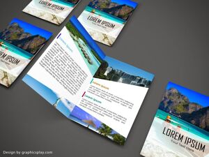 Brochure Design Template ID - 3480 9