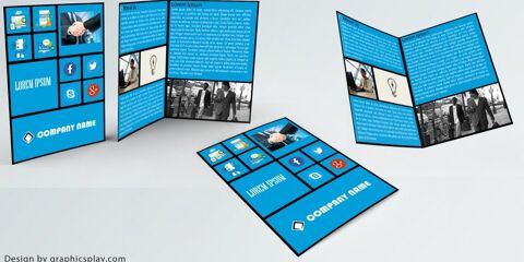 Brochure Design Template ID - 3514 9