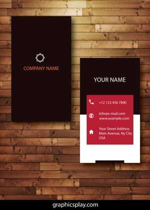 Business Card Design Vector Template - ID 4142 3
